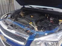 Bán xe cũ Chevrolet Colorado 2014 2.8 màu xanh số sàn, máy dầu