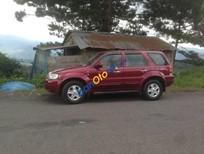 Cần bán xe Ford Escape AT sản xuất năm 2002, màu đỏ