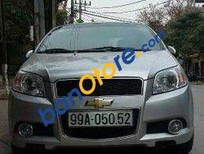 Bán Chevrolet Aveo MT đời 2014, màu bạc