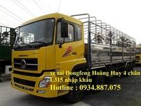 Bán xe tải Dongfeng Hoàng Huy 4 chân 17.9 tấn (17T9) hỗ trợ trả góp toàn quốc