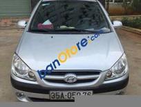 Chính chủ bán lại xe Hyundai Getz MT đời 2008, màu bạc