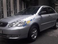 Cần bán xe Toyota Corolla altis 1.8G đời 2002, màu bạc xe gia đình, giá chỉ 290 triệu