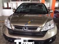Cần bán lại xe Honda CR V năm 2010, màu vàng cát