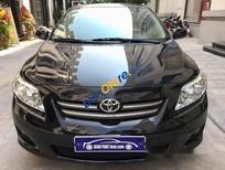 Bán xe cũ Toyota Corolla XLi đời 2009, màu đen, nhập khẩu