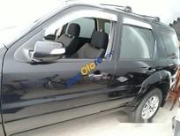 Bán xe cũ Ford Escape XLS đời 2010, màu đen, mới đi 35000 km, máy móc vận hành tốt