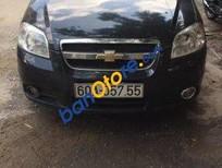 Chính chủ bán Chevrolet Aveo MT 2012, màu đen