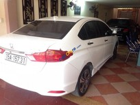 Cần bán gấp Honda City sản xuất 2014, màu trắng