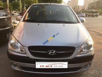 Bán Hyundai Getz 1.1MT năm 2010, màu bạc, nhập khẩu Hàn Quốc