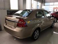 Bán xe Chevrolet Aveo LTZ năm 2015, màu vàng xe gia đình