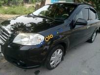 Cần bán gấp Daewoo Gentra MT năm 2009, màu đen