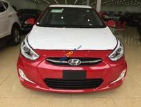 Bán ô tô Hyundai Accent blue đời 2017, màu đỏ trắng, xe nhập