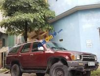 Cần bán xe Toyota 4 Runner sản xuất 1998, màu đỏ, nhập khẩu