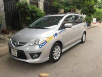 Cần bán lại xe Mazda 5 năm sản xuất 2009, màu bạc