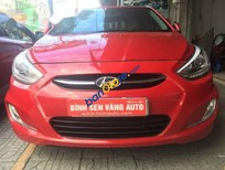 Cần bán xe Hyundai Accent Blue năm sản xuất 2014, màu đỏ, nhập khẩu nguyên chiếc, giá tốt