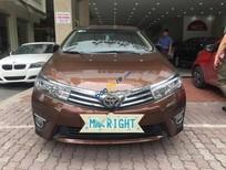 Bán ô tô Toyota Corolla Altis 1.8G đời 2015, màu nâu như mới, 725 triệu