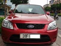 Bán xe Ford Escape 2.3XLS đời 2010, màu đỏ, số tự động