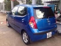 Bán Hyundai i10 năm 2009, màu xanh lam, xe nhập