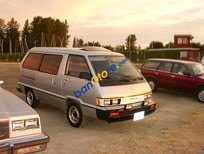 Bán Toyota Van năm sản xuất 1986, màu bạc, nhập khẩu nguyên chiếc giá cạnh tranh