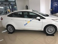 Cần bán xe Ford Fiesta 1.5L AT Titanium đời 2017, màu trắng, hỗ trợ trả góp lên đến 80% giá trị xe