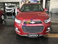 Bán xe Chevrolet Captiva Revv 2017 màu đỏ, giá cạnh tranh