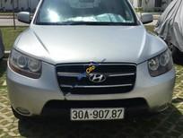 Cần bán gấp Hyundai Santa Fe MLX 2.2AT sản xuất 2006, màu bạc, đăng ký lần đầu 2008
