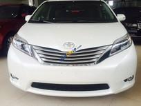Bán Toyota Sienna Limited sản xuất 2017, màu trắng, nhập Mỹ đủ hết đồ, xe giao ngay