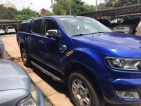 Bán ô tô Ford Ranger XLT 4x4MT sản xuất 2015, màu xanh lam, nhập khẩu, giá chỉ 570 triệu