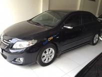 Bán ô tô Toyota Corolla altis 1.8 G đời 2009, màu đen chính chủ, giá chỉ 485 triệu