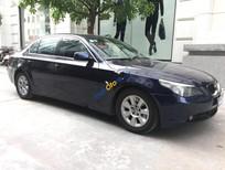 Cần bán lại xe BMW 5 Series 525i sản xuất năm 2007, màu xanh lam, nhập khẩu, giá chỉ 590 triệu