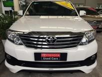 Cần bán gấp Toyota Fortuner TRD 2015, màu trắng, 900tr, số tự động
