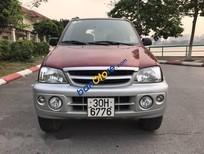 Bán xe Daihatsu Terios 1.6 MT đời 2008, màu đỏ xe gia đình, giá tốt