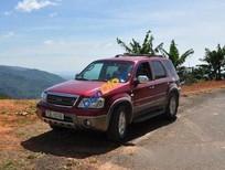 Cần bán lại xe Ford Escape AT năm sản xuất 2005, màu đỏ chính chủ