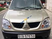 Bán ô tô Mitsubishi Jolie MT sản xuất năm 2004, màu vàng số sàn, giá chỉ 165 triệu