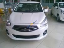 Bán Mitsubishi Attrage CVT sản xuất năm 2016, màu trắng, nhập khẩu nguyên chiếc