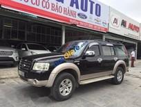 Bán Ford Everest AT năm sản xuất 2009, màu đen, giá tốt