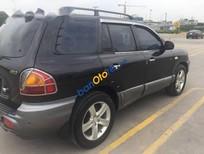 Bán Hyundai Santa Fe Gold đời 2004, màu đen số tự động