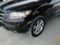 Bán xe Hyundai Santa Fe SLX đời 2008, màu đen, nhập khẩu