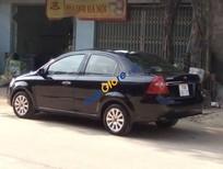 Cần bán Daewoo Gentra sản xuất 2011, màu đen