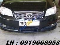 Cần bán Toyota Vios G đời 2007, màu đen, gia đình giữ gìn cẩn thận không đâm va và ngập nước