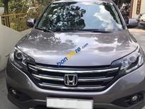 Cần bán xe Honda CR V 2.4AT năm 2013, màu xám còn mới