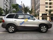 Cần bán lại xe Hyundai Santa Fe Gold đời 2008, màu bạc số tự động