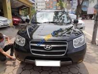 Bán Hyundai Santa Fe CRDi năm sản xuất 2008, màu đen, giá chỉ 530 triệu