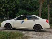 Bán ô tô Daewoo Lacetti EX sản xuất 2005, màu trắng chính chủ
