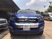 Cần bán gấp Ford Ranger XLT 4x4MT sản xuất 2015, màu xanh lam, nhập khẩu nguyên chiếc, giá tốt
