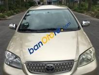 Bán Toyota Vios G năm 2004, màu vàng, giá chỉ 198 triệu