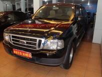 Bán Ford Ranger 4x4 MT năm 2005, màu đen, giá 220tr