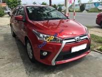 Cần bán xe Toyota Yaris 1.3 AT G năm sản xuất 2015, màu đỏ, giá 579tr