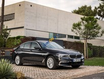 BMW 5 Series 520D Luxury đời 2017, màu đen, nhập khẩu   Giá xe BMW 5 Series G30 chính hãng