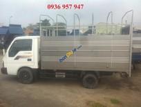 Bán xe tải Thaco Kia K190 thùng mui bạt sản xuất 2017, màu trắng