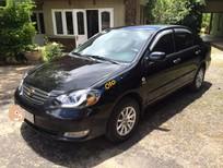 Cần bán gấp Toyota Corolla altis 1.8G năm 2005, màu đen xe gia đình, 358tr